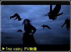 「no vain」PV映像