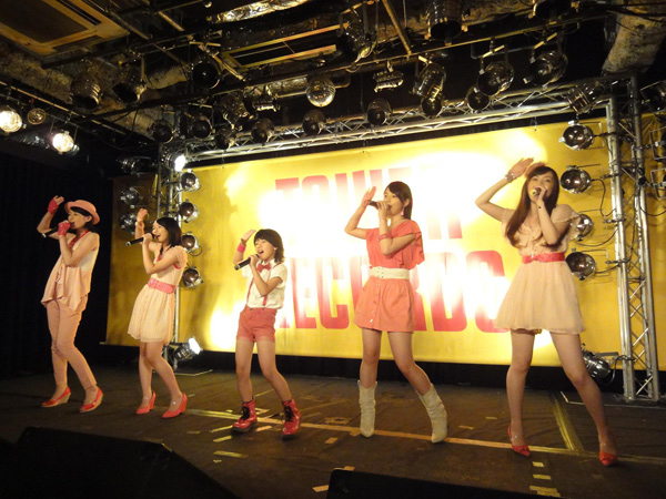 bump.y(バンピー)が、8月29日タワーレコード渋谷店にて、デビュ... bump.y、熱狂