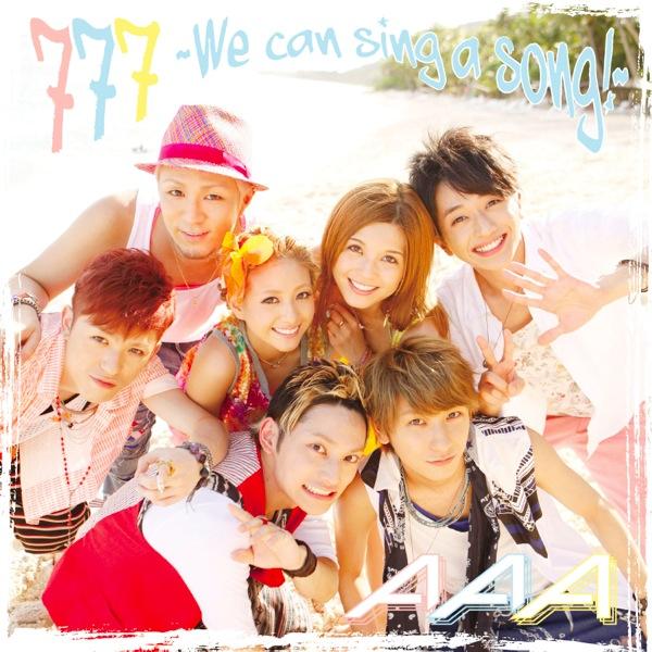 New Song Singa One Man: デビュー7周年の7人組AAA、7枚目のオリジナルアルバム『777~TRIPLE SEVEN~』発売決定