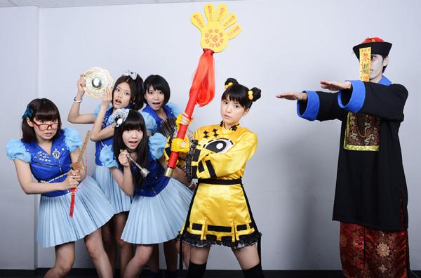 キョンシーガール 東京電視台戦記』に主演、キョンシーガールの姿を公開した。9nineのメンバー、アイドル・川島海荷役で、キョンシー達と大バトルを繰り広げるという