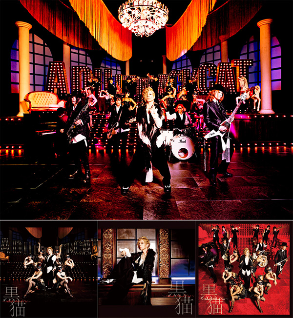 Acid Black Cherry、新作「黒猫 ...