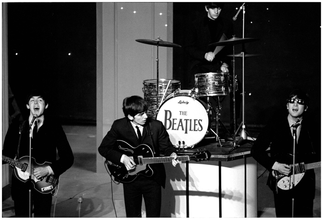 Image result for john lennon and the beatles