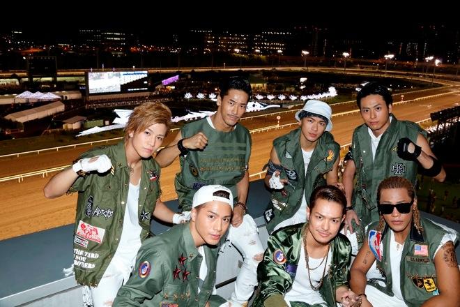 三代目 J Soul Brothers 競馬場