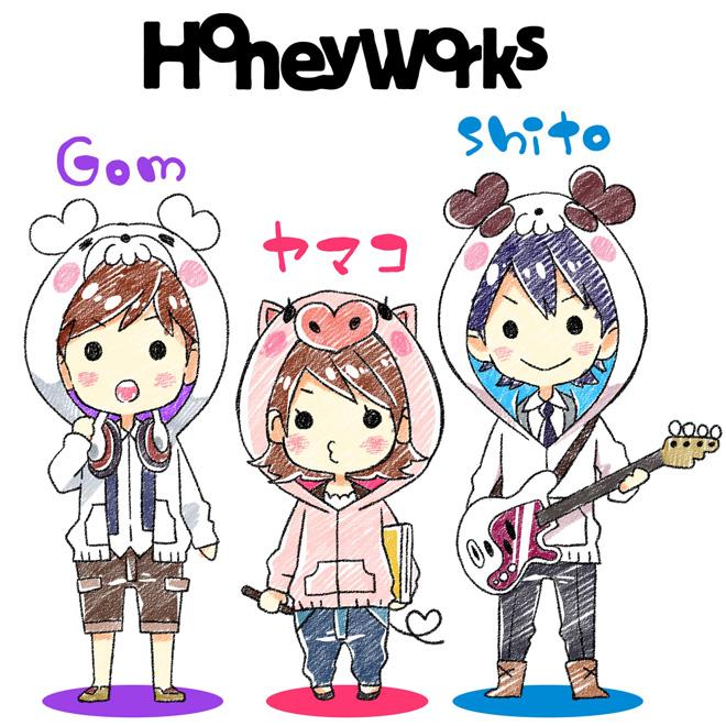 Best Honeyworks キャラクター - Jungoi