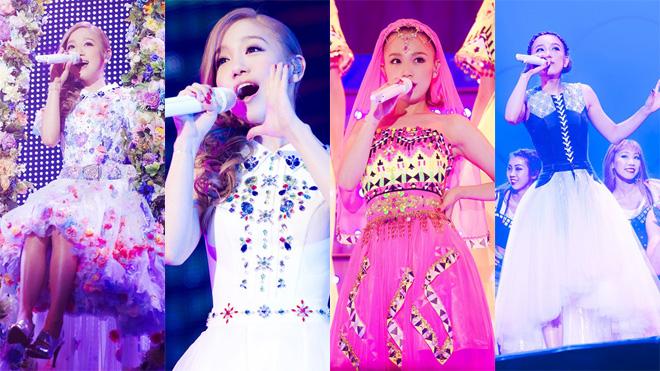 8月22日&23日、西野カナの全国アリーナツアー<with LOVE tour>が大阪城ホール公演にてファイナルを迎えた。アルバム『with  LOVE』のコンセプトどおり、「みんなの