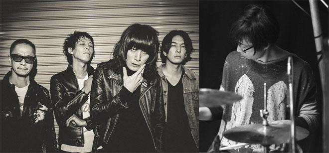 ドレスコーズのアルバムリリースツアーとなる<Tour 2015 \u201cDon\u0027t Trust Ryohei Shima\u201d JAPAN TOUR>の福岡公演で、ドラムをアヒト・イナザワ(VOLA  \u0026 THE ORIENTAL
