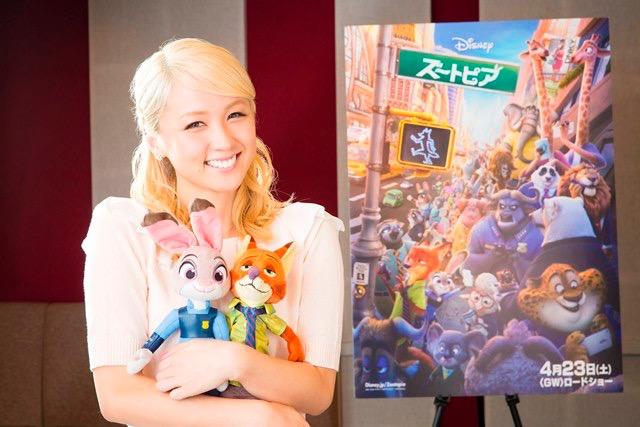 Dream Ami、ディズニー最新作『ズートピア』日本版主題歌&声優起用決定