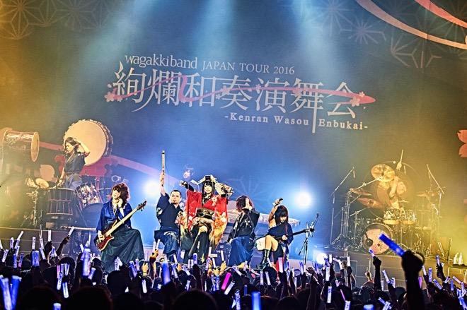 東京ライブの和楽器バンド