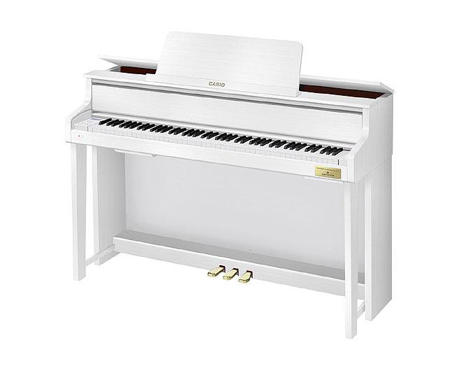 カシオ電子ピアノ「CELVIANO Grand Hybrid」にホワイトウッド調 ...