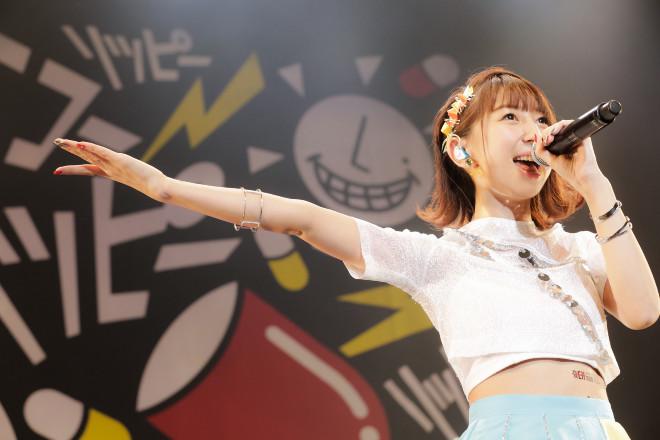飯田里穂のライブ
