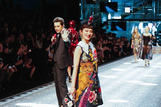 【音楽】コムアイ(水曜日のカンパネラ)、ドルチェ&ガッバーナのショーに日本人アーティストとして初出演