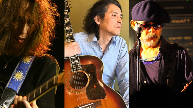 THE ROOSTERZ、花田+下山+穴井...