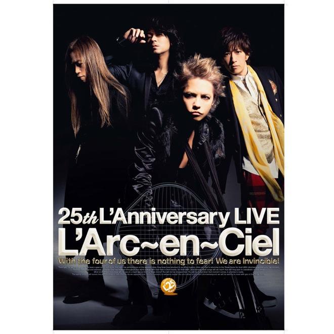 <L'Arc-en-Ciel 25th L'Anniversary LIVE>、オフィシャルグッズ通販ページ公開中 ...
