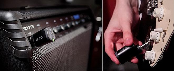 Line 6ギターアンプにギター・ワイヤレス・システムをセットに