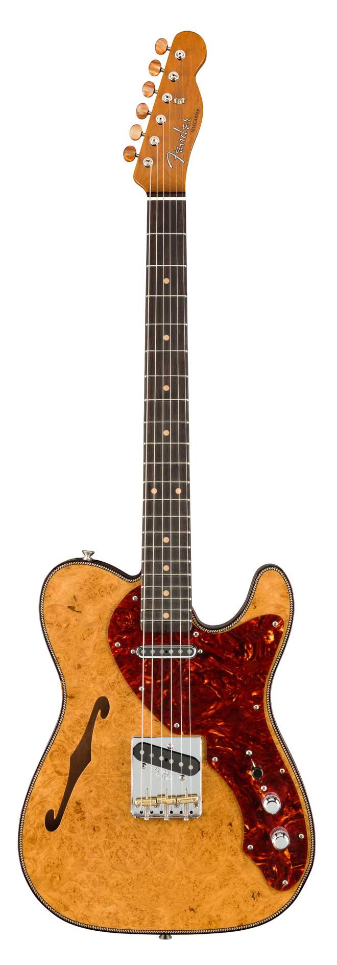 Fender Custom Shopからジミー・ヴォーンのシグネイチャーモデルとクラフツマンシップを体現する限定モデルが登場