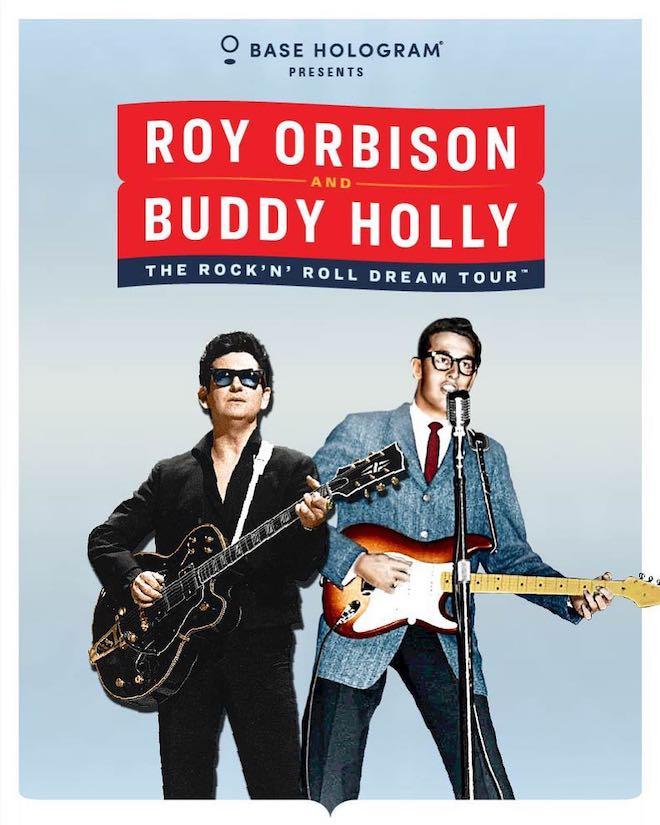 ロイ・オービソン&バディ・ホリーのホログラム・ツアー開催 | BARKS