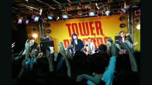 The Birthday、タワーレコード渋谷店でサプライズ・ライヴ
