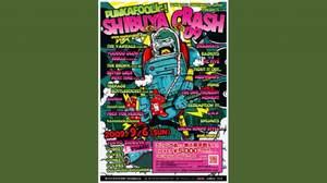 <PUNKAFOOLIC! SHIBUYA CRASH 09>第一弾アーティスト発表