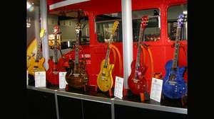 [2009楽器フェア速報]VOXのヴィラージュにレア素材のショーモデル
