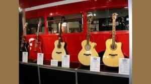 [2009楽器フェア速報]VOXがアコースティック・ギターを製作