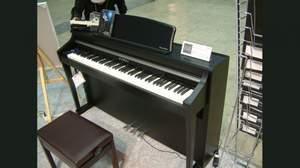 [2009楽器フェア速報]河合楽器製作所、グランドピアノのキータッチを再現したエレピ