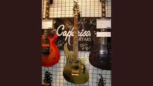 [2009楽器フェア速報]キャパリソン15周年モデルはキンキラ