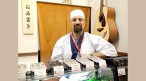[2009楽器フェア速報]寿司板前の魚男が待ち構えるFISHMANブース