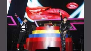 m-floが10周年記念ライヴを開催。ファンとともに「we are one!」