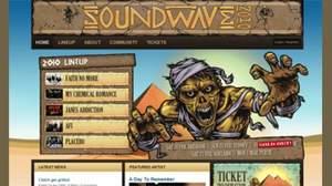 南半球・真夏のロックフェスティバル<SOUNDWAVE FESTIVAL>のツアー募集中