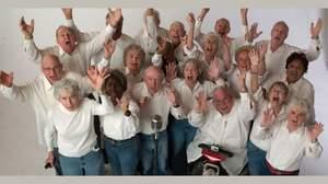 平均年齢80歳、世界一やんちゃなご長寿ロック合唱隊ヤング@ハート、来日決定