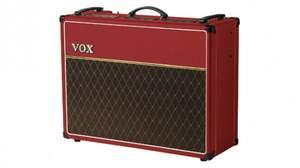 VOXからビンテージ・レッドを再現したチューブ・コンボ・アンプ「AC30C2-RD」