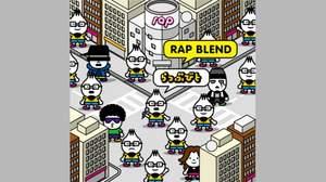 らっぷびと、2nd Album『RAP BLEND』リリース