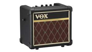 VOX、ポータブル・モデリング・アンプ「MINI 3」に、伝統のダイアモンド・グリル・クロスを施した「MINI3 CL」新登場