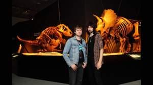 カサビアン『ヴェロキラプトル!』、恐竜博で咆える