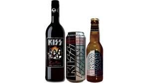 キッス、ワインとビールを販売