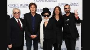 ポール・マッカートニー&リンゴ・スター、ジョージ・ハリソンのドキュメンタリー映画公開でジョージを偲ぶ