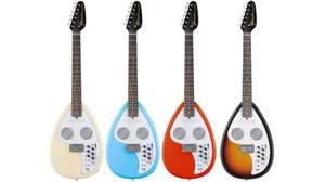 VOXからスピーカー&リズム機能内蔵のトラベル・ギター「Apache」シリーズが伝説のモデルのボディ・シェイプで登場