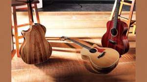 Taylorからスペシャルな木材をフィーチャーした2011秋限定モデルが登場