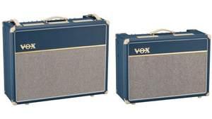 VOXからブルー・バイナル/タイゴン・クロス仕様の限定カラー「AC30C2-BL」「AC15C1-BL」新登場