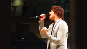 城田優、1000人の前で世界30ヶ国配信の新曲を熱唱