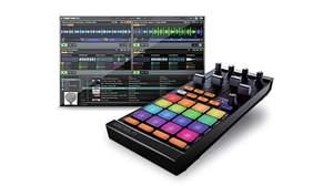 Native Instrumentsからカラフルな16のパッドでサンプルをコントロールできるコントローラー「TRAKTOR KONTROL F1」