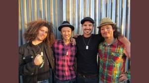 レッチリのフリーから助言を受け、日米混合バンド・FOUR MINUTES TIL MIDNIGHTがメジャーデビュー