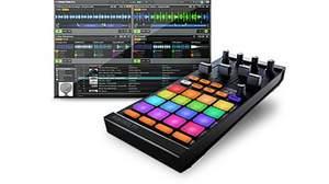 Native Instruments「TRAKTOR KONTROL F1」いよいよ登場! ループ/サンプルを自在に操るスタイリッシュな16のマルチカラーパッド搭載