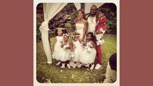 ボビー・ブラウンが結婚、ホイットニーとの愛娘は挙式を欠席