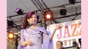 <真夏の夜のJAZZ in HAYAMA2012>で八代亜紀、JAZZアレンジの「舟唄」も披露