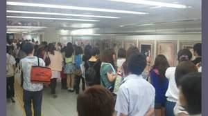 "SUPER JUNIORによる""セクシーな男性の展覧会""、渋谷駅で開催中"