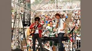 """【ライブレポート】<靭公園MUSIC FESTA FMCOCOLO~風のハミング"""">、貴重な夢のコラボ満載"""