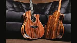 Taylorから2012年秋の新製品登場、Presentation、Quilted Sapele/European Spruce、400シリーズが多数ラインナップ