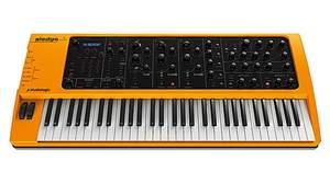 鍵盤メーカーFATARが手がけるStudiologicから話題の黄色いシンセ「Sledge」登場、Waldorfの最新技術を採用