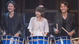 【ライブレポート】AUN Jクラシック・オーケストラ・レコ発ライブ、香音が和太鼓を披露